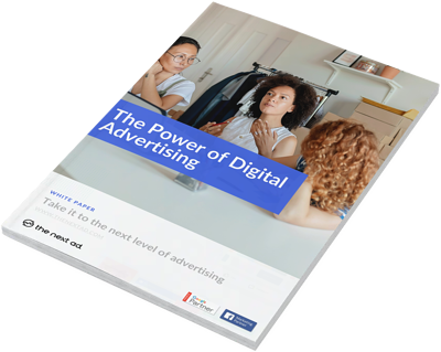 Power of digital advertising - cover page